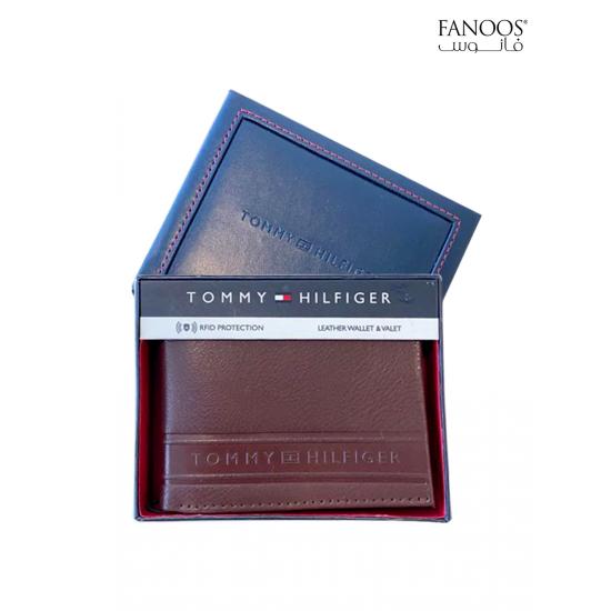 Tommy Hilfiger Men's Wallet - Brown