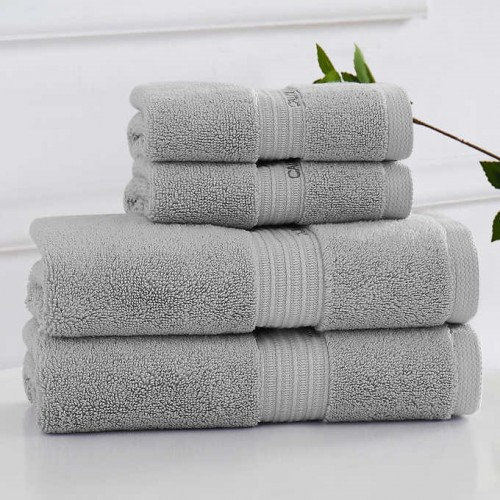 Calvin Klein Set of 4 Towels – Grey