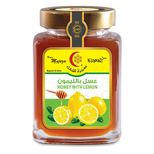 Honey with lemon 300gm