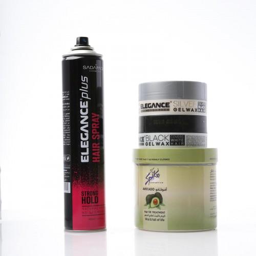 Bath Oil For Hair &Black Hair Wax & White Hair Wax &Hair Spray