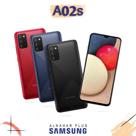 Samsung Galaxy A02S 32GB Dual SIM - Red black