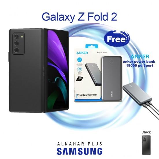 Samsung Z Fold2 5G 256GB Phone – Mystic Black + free Anker power bank