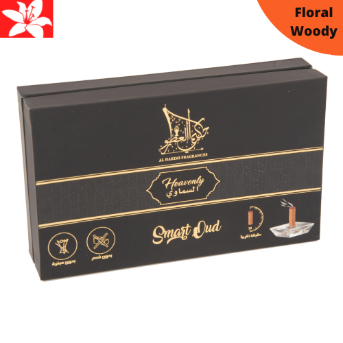 Heavenly Smart Oud - 10 Sticks with A Crystal Stand