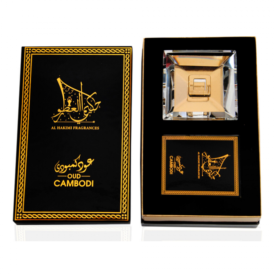 Smart Oud Cambodi Pure Agarwood - 10 Sticks with A Crystal Stand