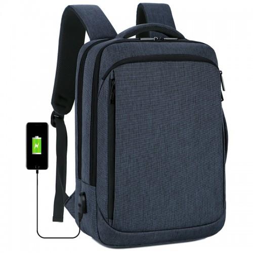 New Travel Shoulder Bag Convertible Handbag/Laptop Backpack